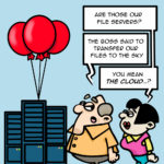 Ken didn't listen and is sending servers to the sky, not the cloud