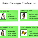 Jim's Colleague Flashcards